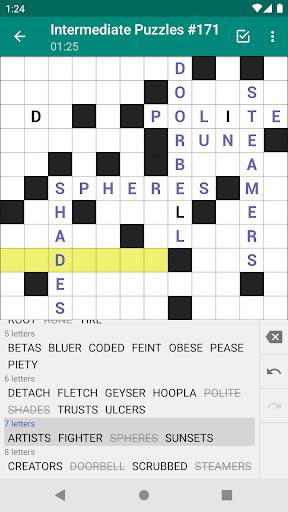 Fill-In Crosswords 3.07 screenshots 2