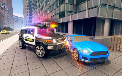 Police Chase vs Thief: Police Car Chase Game  screenshots 15