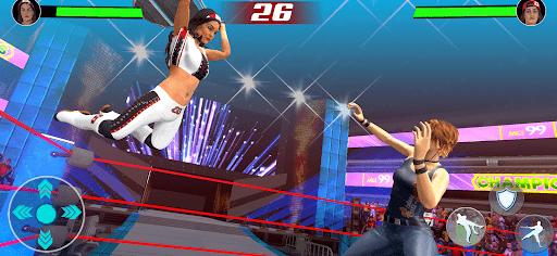 Bad Girls Fighting Games: Gym Women Wrestling Game  screenshots 2