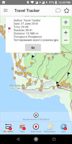 Travel Tracker Pro - GPSトラッカーのおすすめ画像5