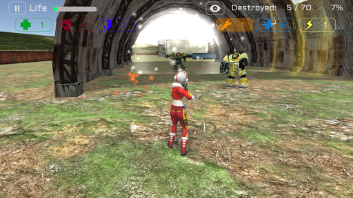 Ghost Squad: Warbots Battle screenshots 5