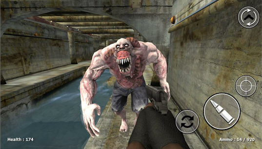 Zombie Evil Kill – Dead Horror FPS Mod Apk (Dumb Enemy) 2
