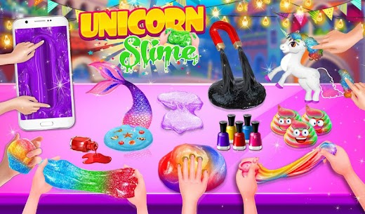Unicorn Slime Maker Simulator Satisfying Games DIY 1