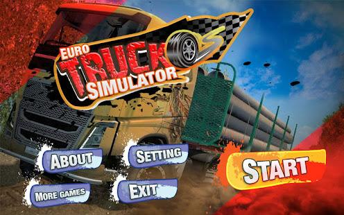Euro Truck Simulator : Pro Version Game Unlimited Money