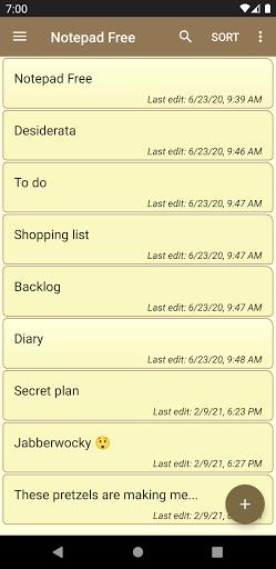 Notepad Free apktram screenshots 1