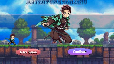 Tanjiro Game: Pixel Adventureのおすすめ画像1