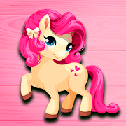 Animals unicorns, games for girls puzzles for kids
