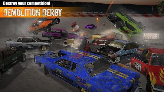Demolition Derby 3 Mod Apk (Unlimited Gold/Unlocked All Cars) 10