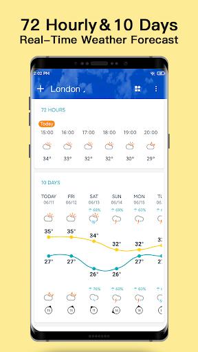Weather - Live weather & Radar app 1.0.3.9 Screenshots 3