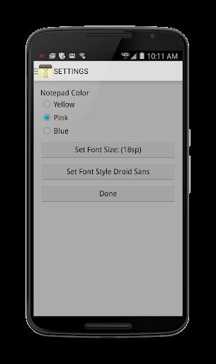 NOTES 1.27 Screenshots 6