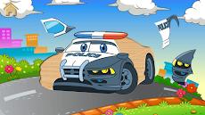 子供のための車とトラックのパズルゲームのおすすめ画像2