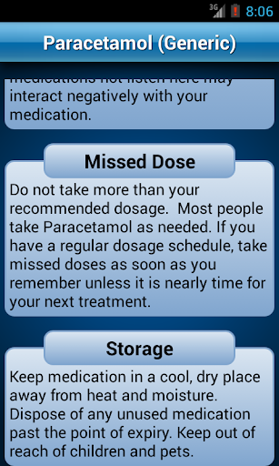 Drugs Dictionary Offline: FREE 2.0 Screenshots 8