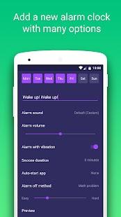Умный будильник Screenshot