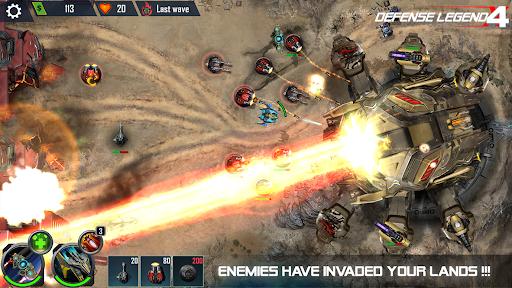 Defense Legend 4: Sci-Fi Tower defense  screenshots 13
