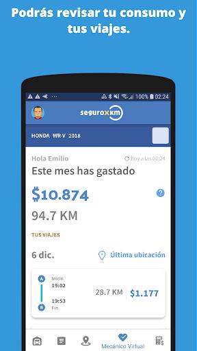 seguro x km screenshot 1