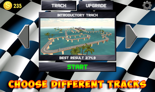 Racing stunts by car. Extreme driving apkpoly screenshots 8