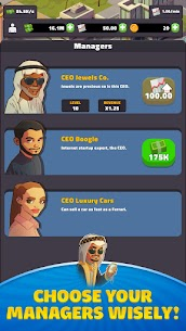 Idle Business Tycoon – Dubai Mod Apk (Free Shopping) 1.1.0 5