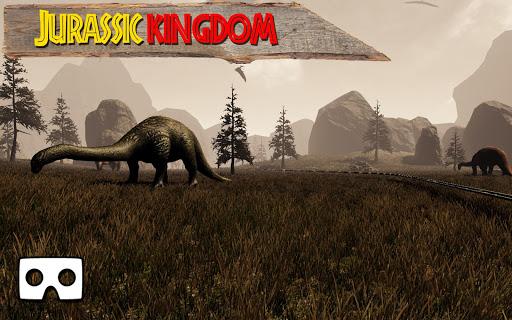 vr jurassic kingdom tour: world of dinosaurs screenshot 1