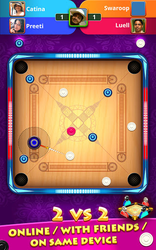 World Of Carrom : 3D Board Game android2mod screenshots 2