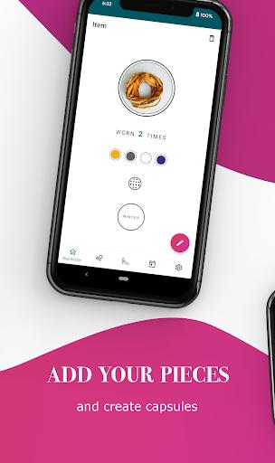 Mind Dress: Build your minimalist capsule wardrobe  screenshots 2