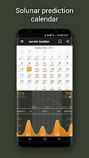 Hunting Calendar Pro Screenshot