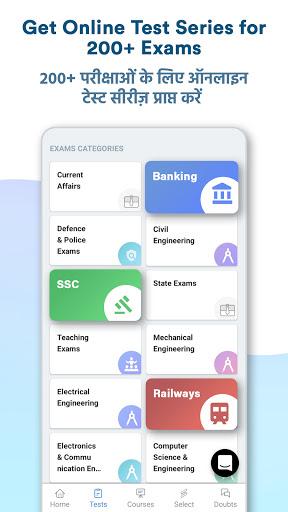 Exam Preparation App: Free Live Class   Mock Tests  screenshots 1