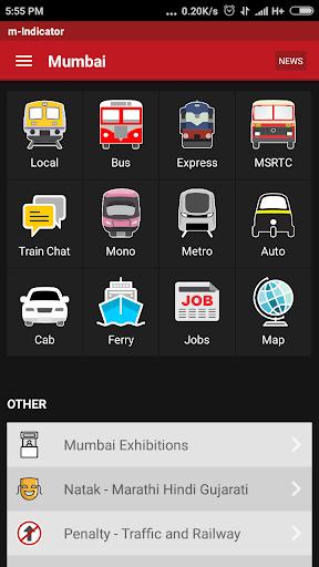 m-Indicator- Mumbai - Live Train Position 17.0.189 Screenshots 1
