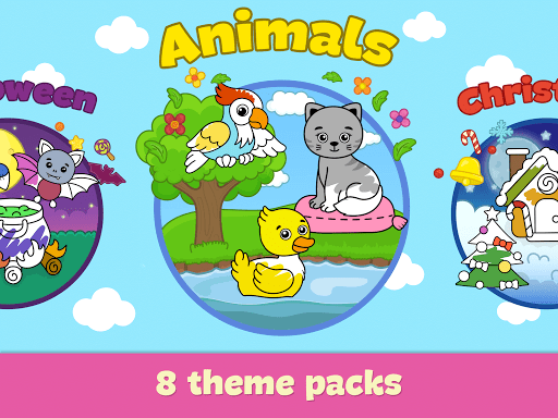 Coloring and drawing for kids  screenshots 11