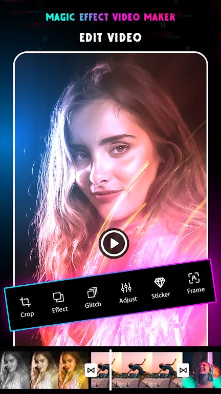 Magic Video Editor : Magic Video Effects poster 0