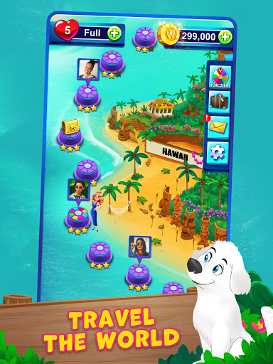 Bubble Pop: Wheel of Fortune! Puzzle Word Shooter apkpoly screenshots 12