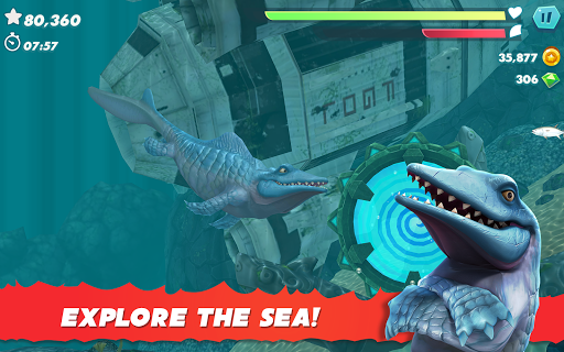 Hungry Shark Evolution - Offline survival game  screenshots 18