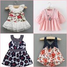 かわいい赤ちゃんの女の子のドレスのデザインのおすすめ画像4
