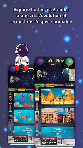 Code Triche Idle Evolution Tycoon - Save the Humanity in Space APK MOD  (Astuce) screenshots 1