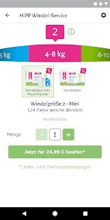 HiPP Windel App 1.4 Screenshots 3