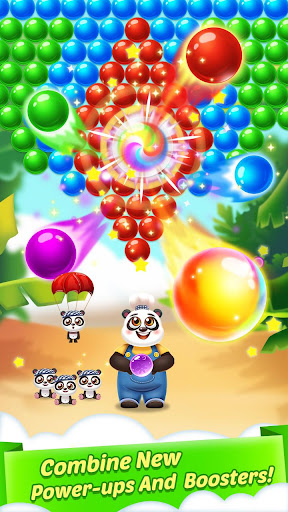 Bubble Shooter Cooking Panda  screenshots 1