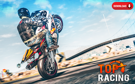 Mega Real Bike Racing Games - Free Games screenshots 1