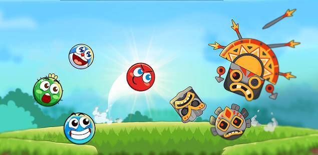 Red Bounce Ball Heroes 1.22 screenshots 1