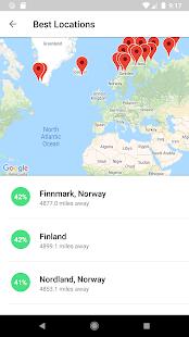My Aurora Forecast - Aurora Alerts Northern Lights