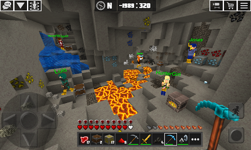 PlanetCraft: Block Craft Games apkpoly screenshots 5