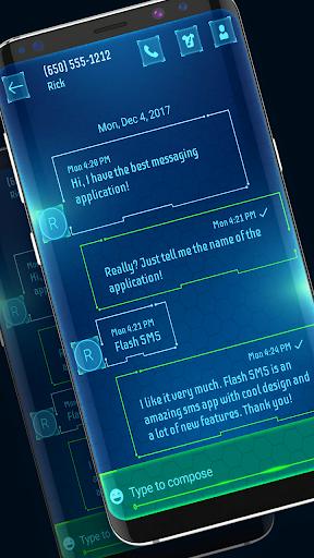 New Hacker Messenger 2021 theme  Screenshots 2