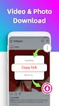screenshot of Video downloader for Instagram, Reels, Story Saver