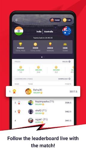CricPlay - Free Fantasy Cricket & Virtual Betting 1.0.9.0 screenshots 5