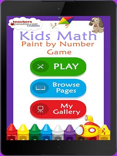 Kids Math Paint by Number Game 2 screenshots 5