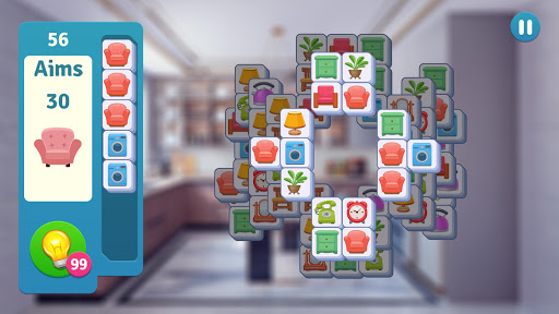 Makeover Master: Tile Connect & Home Design Apkfinish screenshots 5
