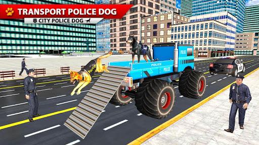 City Police Dog Simulator, 3D Police Dog Game 2020 apkpoly screenshots 3