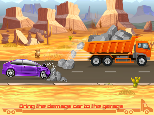 Kids Truck Games: Car Wash & Road Adventure android2mod screenshots 12