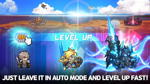Raid the Dungeon : Idle RPG Heroes AFK or Tap Tap apkmr screenshots 18
