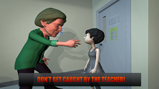 Horror Teacher School Creepy Game screenshots 6