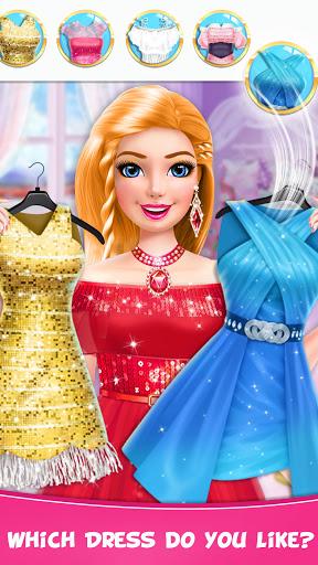 Braided Hairstyle Salon: Make Up And Dress Up  screenshots 2