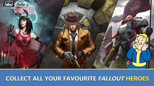 Fallout Shelter Online [Mod] Apk - Trú ẩn bụi phóng xạ
